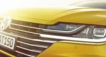 Nuova Volkswagen Arteon: la fastback debutterà al Salone di Ginevra