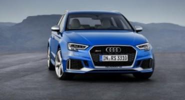 Nuova Audi RS3 Sportback: siete pronti ad indossare tuta e casco?