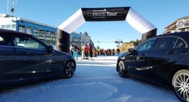 4MATIC Challenge: sulle piste da sci con Mercedes-Benz e Samsung