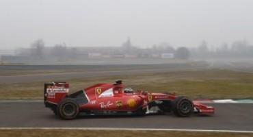 Antonio Giovinazzi debutta a Fiorano sulla Ferrari SF15-T