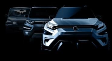 """SSANGYONG presenta al Salone di Ginevra """"XAVL CONCEPT"""", il nuovo SUV medio"""