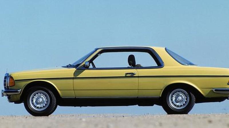 Mercedes-Benz Coupé Serie C123: debutta nel Marzo del 1977