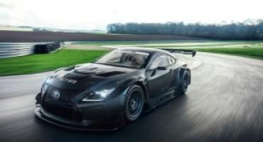 Nuova Lexus RC F GT3: l'arma per la stagione motorsport 2017