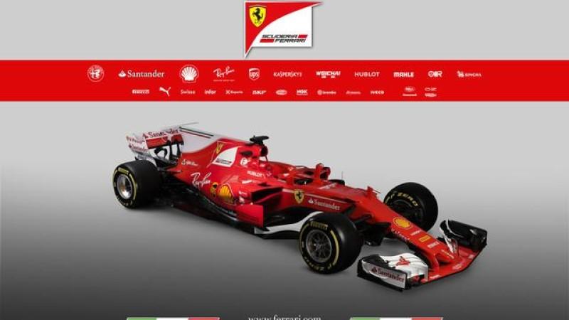 Ferrari svela la SF70H
