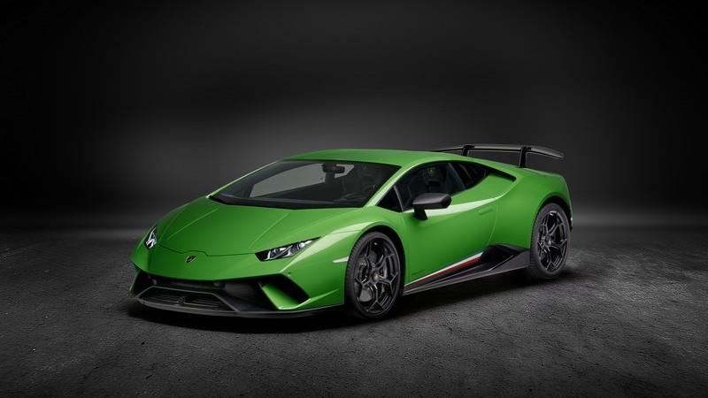 Lamborghini svela a Ginevra la Huracan Performante