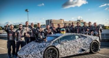 Lamborghini Huracan Performante, debutto con record al Nurburgring