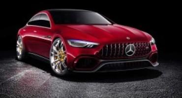 Mercedes-AMG, per il cinquantenario svela la GT Concept, nuova showcar ibrida
