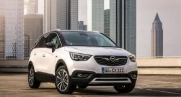 Arriva sul mercato il nuovo Opel Crossland X