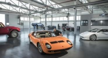 Polo Storico Lamborghini, apre il centro dedicato alle Classiche del Marchio