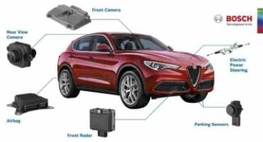 Della tedesca Bosch le tecnologie di bordo del nuovo Alfa Romeo Stelvio