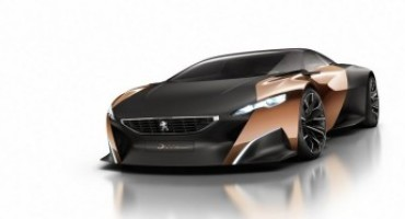 Peugeot espone la Concept Car Onyx alla Design Week 2017