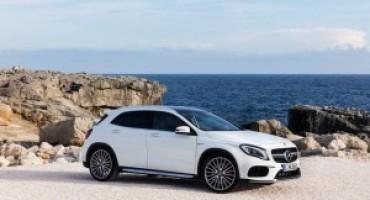 Mercedes presenta il nuovo GLA: rinnovato il design, più ricchi gli interni
