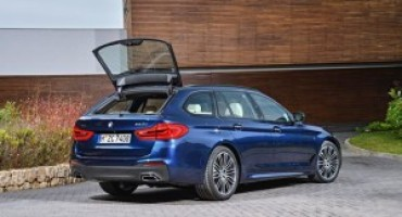 BMW presenta a Ginevra la nuova generazione di Serie 5 Touring