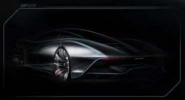 McLaren svela lo sketch della futura Hypercar, nome in codice BP 23