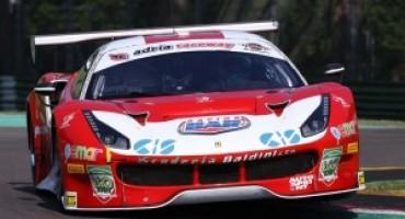 Campionato Italiano GT- Imola: Malucelli (Scuderia Baldini 27) e Schirò (Easy Race) su Ferrari 488 i poleman delle due gare della classe Super GT3