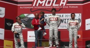 MINI Challenge 2017 – Imola – Gara 2: Filippo Maria Zanin porta a due le vittorie de L'Automobile by Progetto E20