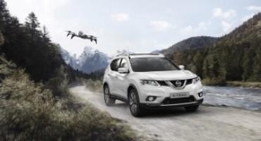 Nissan X-Trail X-Scape, versione speciale equipaggiata con Drone per foto e filmati