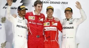 Formula 1 – In Bahrain riscossa Ferrari, vittoria di Vettel davanti a Hamilton