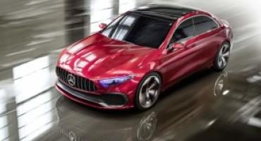 Mercedes-Benz Concept A Sedan, si evolve il design delle future compatte della Stella