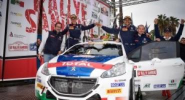 Peugeot conquista il 64° Rally di Sanremo