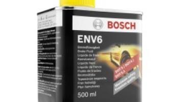 Bosch presenta il nuovo liquido freni ENV6, per i sistemi frenanti del futuro