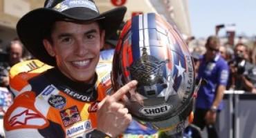 MotoGP – GP Stati Uniti: zampata vincente di Maquez che vince ad Austin per la quinta volta di fila. Rossi è secondo
