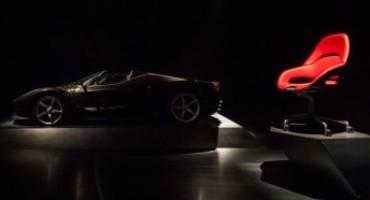 """""""Cockpit"""", la prima seduta da ufficio nata dalla collaborazione tra Ferrari e Poltrona Frau"""