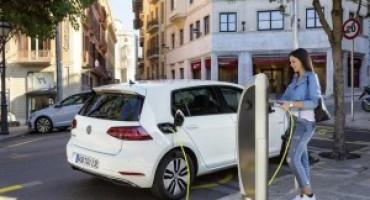 Volkswagen offre su e-up! e su e-Golf uno sconto pari al valore dell'Iva