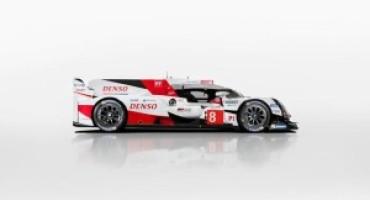 Il Team Toyota Gazoo Racing presenta la TS050 Hybrid, la nuova arma per il WEC 2017