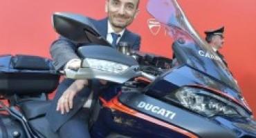Ducati mette a disposizione dell'Arma dei Carabinieri, una Multistrada 1200 S e una Multistrada 1200 Enduro