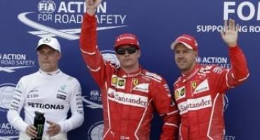 Formula 1 – GP Monaco: prima fila tutta ferrari e pole di Kimi Raikkonen