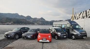 FCA e IVECO supportano il vertice G7 di Taormina, fornendo 90 veicoli
