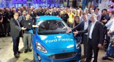 Ford Fiesta, partita la produzione della nuova generazione