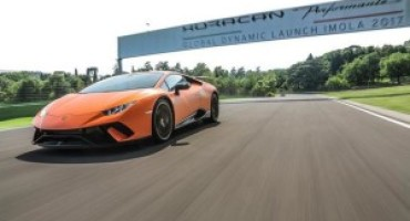 Automobili Lamborghini: la Huracán Performante si aggiudica l'Innovation Award 2017