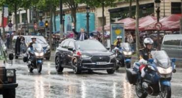 DS 7 Crossback: scelta dal Presidente della Repubblica francese, Emmanuel Macron