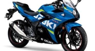 Suzuki, debutta sul mercato italiano la nuova GSX 250 R