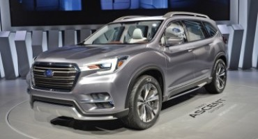 Nuovo Subaru Ascent, il SUV 7 posti per il mercato americano