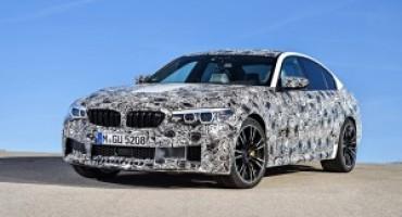 Nuova BMW M5, esordisce la sesta generazione con M xDrive