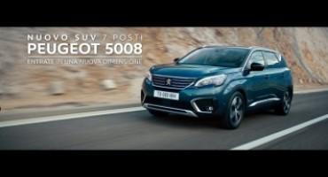 Nuova Peugeot 5008, l'originale SUV 7 posti si prepara al debutto nazionale