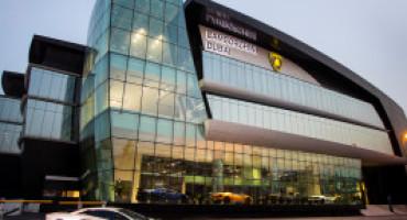 A Dubai lo showroom Lamborghini più grande del mondo