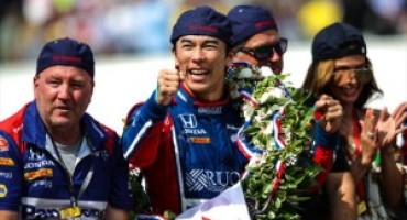 Sato becomes first Japanese winner of Indy 500 in thrilling finish