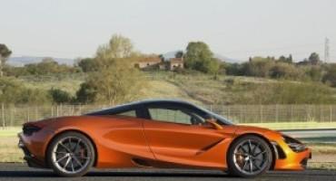 Mclaren 720S debutta al Salone dell'Auto di Torino-Parco Valentino