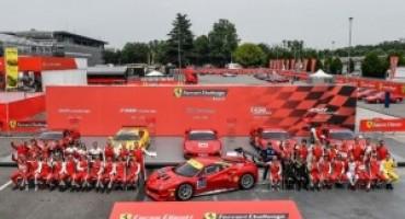 L'Autodromo di Monza si tinge di rosso con il Ferrari Challenge
