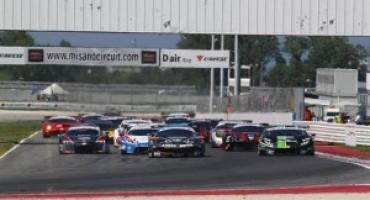 Campionato Italiano GT-Misano: gli equipaggi Agostini-Zampieri (Super GT3) e Benucci Niboli (GT3) centrano la vittoria in Gara 1
