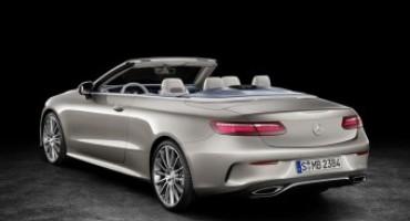 Mercedes-Benz completa la famiglia di modelli di Classe E con la nuova Cabrio