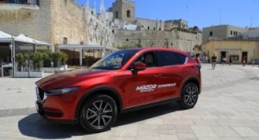 Mazda #Drivetogether Experience: l'artigianalità e la tecnologia dei prodotti Mazda si fonde con i meravigliosi colori del Salento