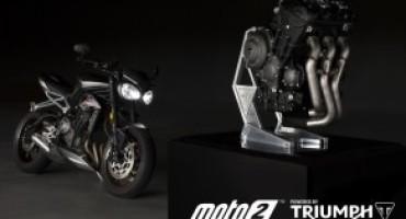 Triumph, dal 2019, sarà fornitore esclusivo dei motori per il Campionato Moto 2