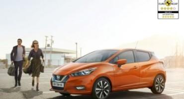 Nissan Micra – Test EuroNCAP: valutazione di quattro e cinque stelle per la city car di giapponese