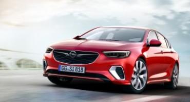 Opel rilancia la sigla GSI sull'ammiraglia Insignia