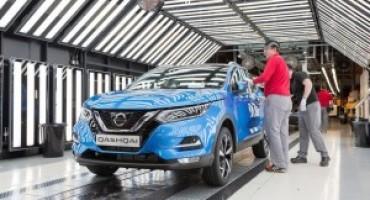 Nissan Qashqai, partita la produzione del nuovo modello